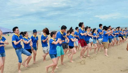 Team Building Nha Trang -Let's Fly Travel